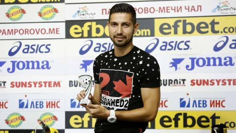 Избраха Даниел Генов за играч номер 1 на първия кръг в efbet Лига