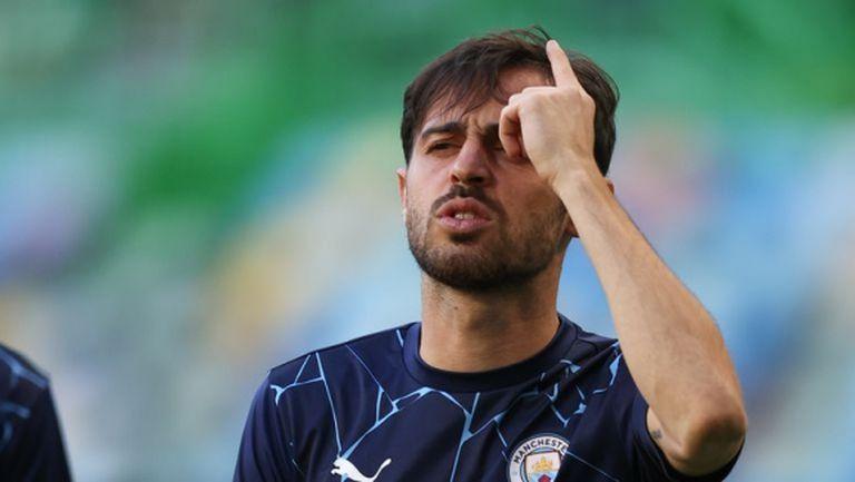 Бернардо Силва захапа феновете на Ливърпул