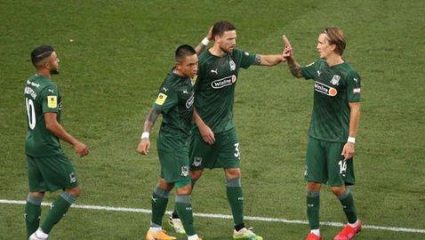 Краснодар не остави шанс на Арсенал (видео)