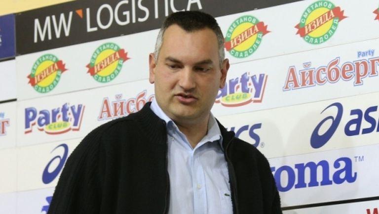 Президентът на Балкан: В момента не мислим за ФИБА Къп, целта ни е пробив в ШЛ