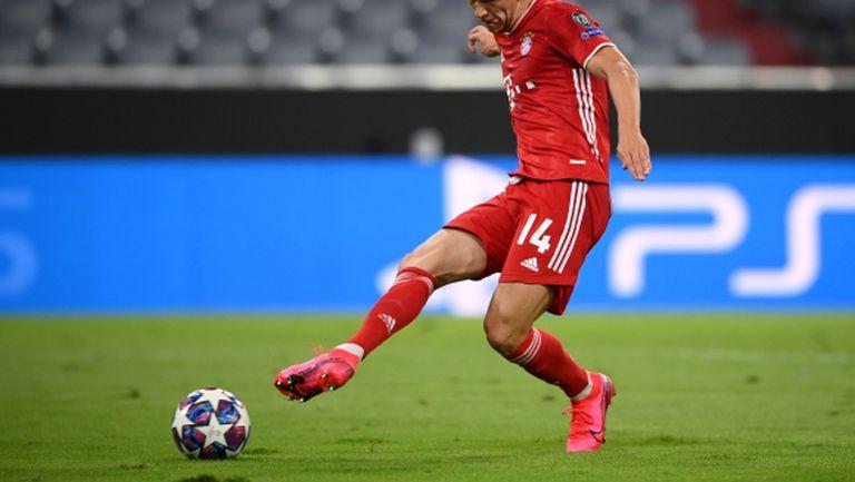 Добрата игра на Перишич почти му гарантира оставане в Мюнхен