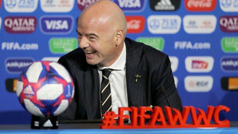 Етичната комисия на ФИФА прекрати разследването срещу Джани Инфантино