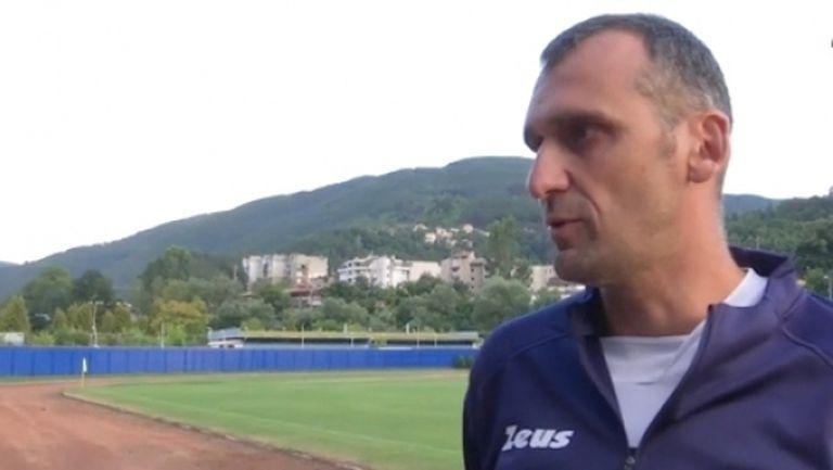 Треньорът на Спортист: При нас нещата стават малко по-бавно и по-трудно (видео)