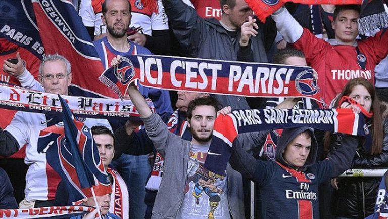 Властите в Марсилия забраниха носенето на атрибути на ПСЖ в деня на финала на Шампионската лига