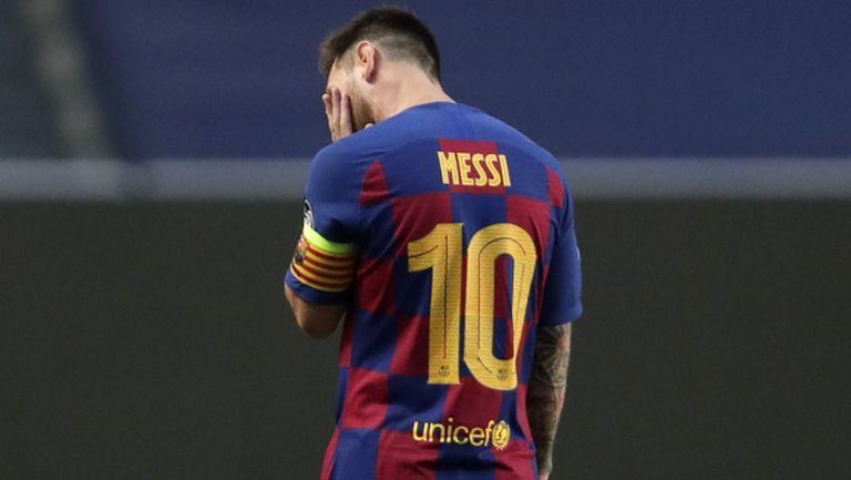 Лео Меси е признал, че по-скоро ще напусне Барселона