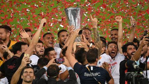 Севиля отново е властелинът на Лига Европа (видео)