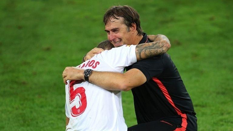 Лопетеги се разплака след първия си трофей