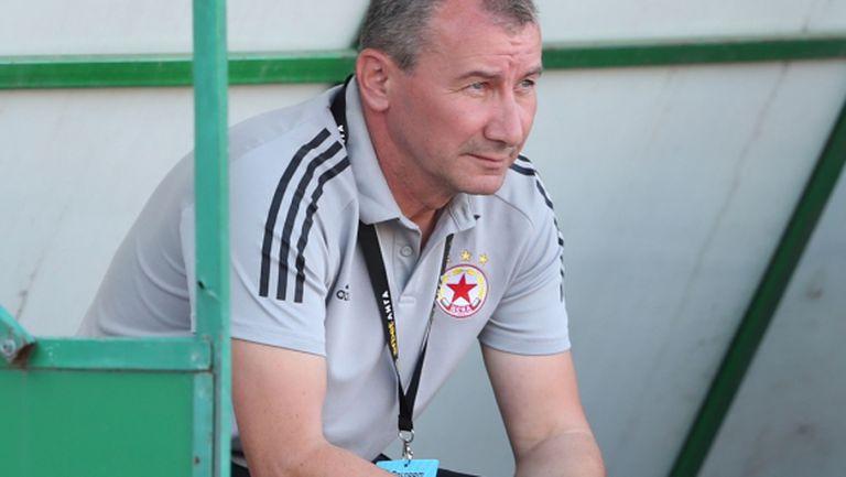 Белчев: Добър резултат, но има какво да се желае от играта