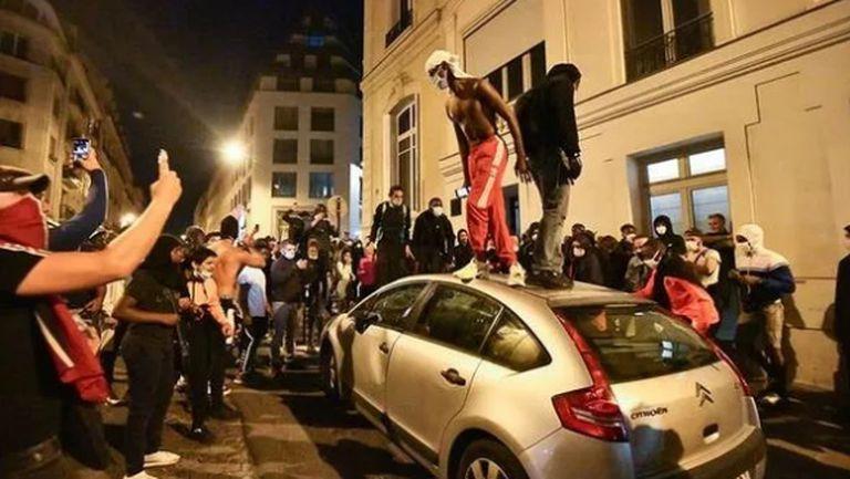 148 задържани в Париж след финала в Шампионската лига