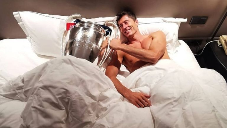 Ето как Левандовски се събуди тази сутрин