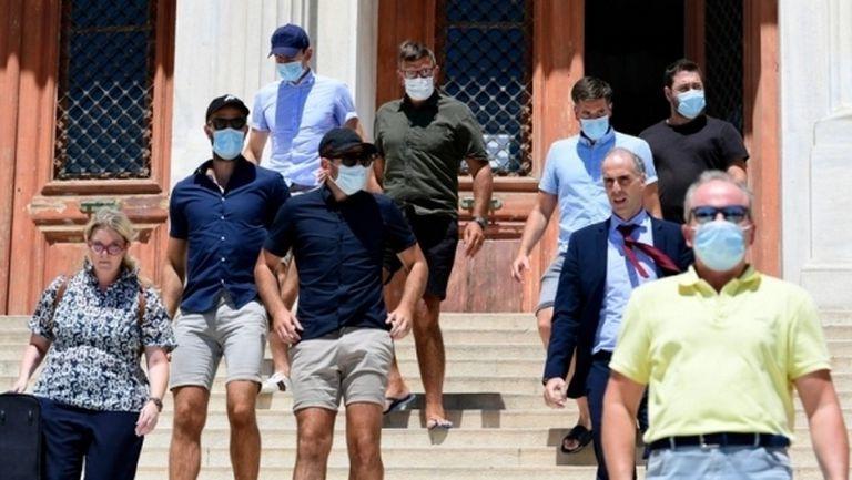 В Гърция били свалени тежките обвинения към Хари Магуайър