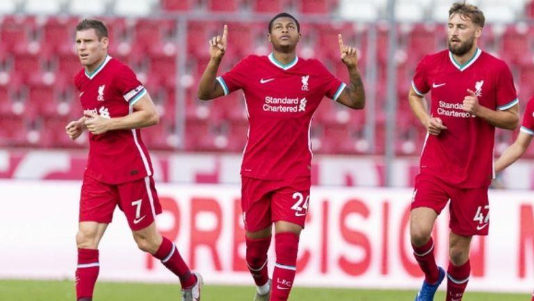 Талант на Ливърпул спаси мърсисайдци след 0:2 срещу РБ Залцбург