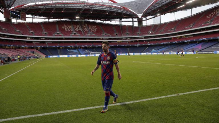 В Аржентина: Меси си тръгва от Барселона - задвижи план да се освободи