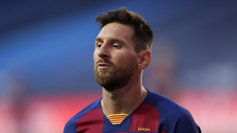 Публикуваха съдбоносния факс на Меси до Барселона