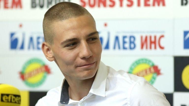 Валентин Антов дебютира като капитан на ЦСКА-София в евротурнирите