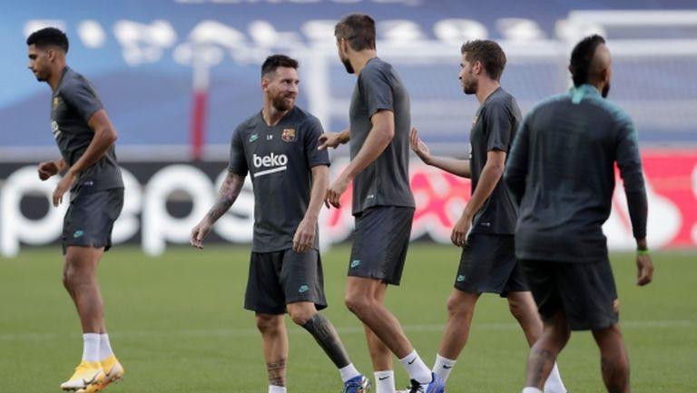 Играчите на Барселона знаели за решението на Меси