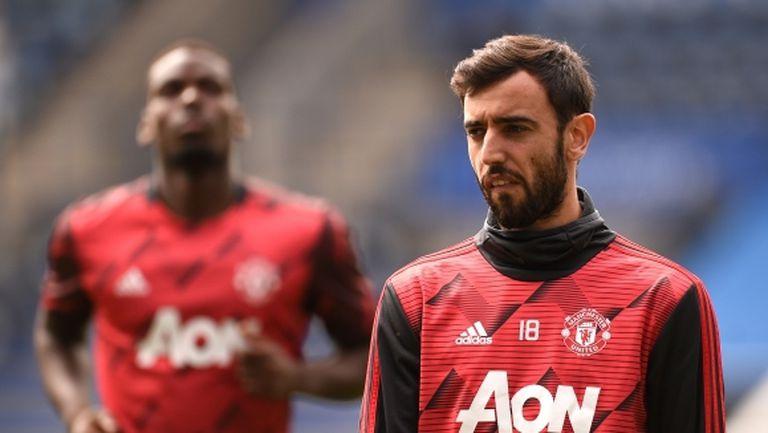 Бруно Фернандеш: Кристиано не спира да ме разпитва за Ман Юнайтед