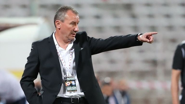 Стамен Белчев: Извинявам се от името на целия отбор за играта