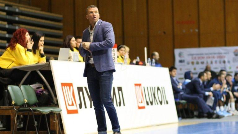 Александър Дяковски: Една от целите ни е да надградим чисто баскетболно като ниво
