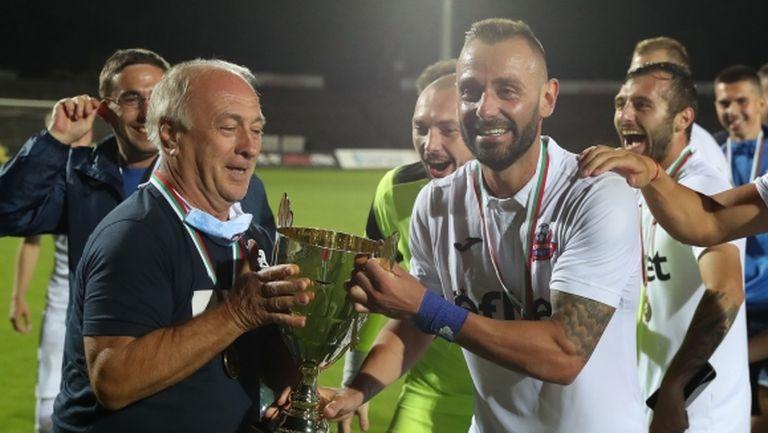 """Балджийски: Надявам се Левски да се върне там, където му е мястото, но сега искам победа срещу """"сините"""""""