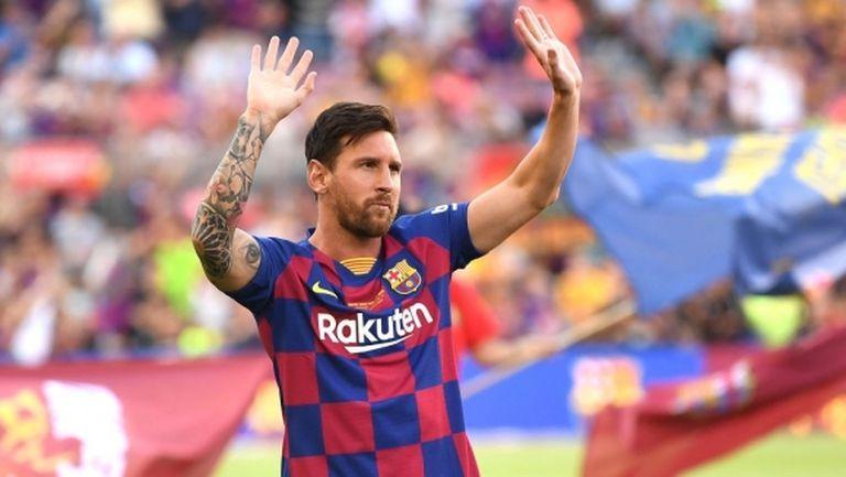 Меси предложил приятелска раздяла, позицията на Барселона обаче е категорична