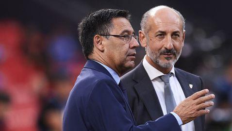 Президентът на Барселона започна с чистката заради Меси