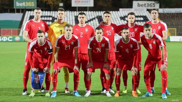 Сърбия ще бори България с играчи от Ман Сити, Брюж и Айнтрахт