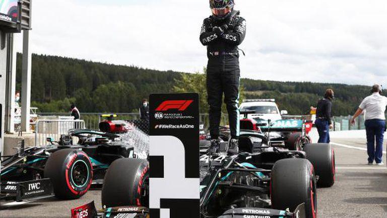 Хамилтън спечели безапелационно квалификацията за Гран При на Белгия