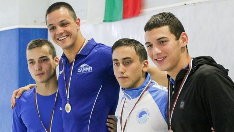 Павел Банчев спечели титлата на 50 метра свободен стил