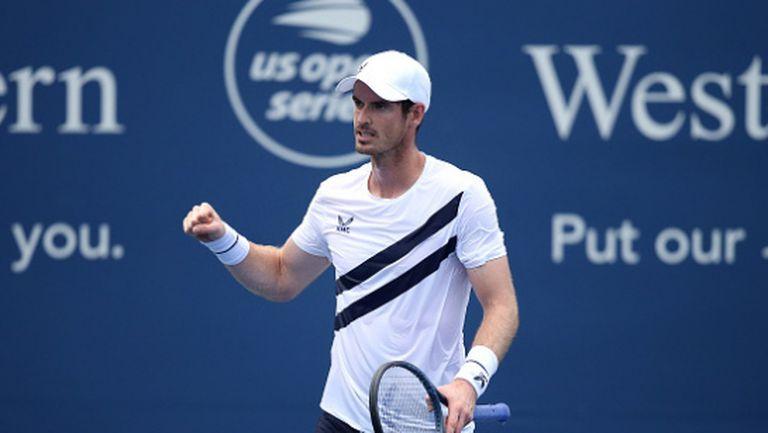 Анди Мъри чака с нетърпение старта на US Open