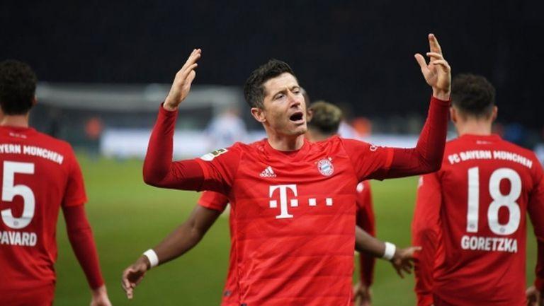 Левандовски беше избран за футболист на годината в Германия