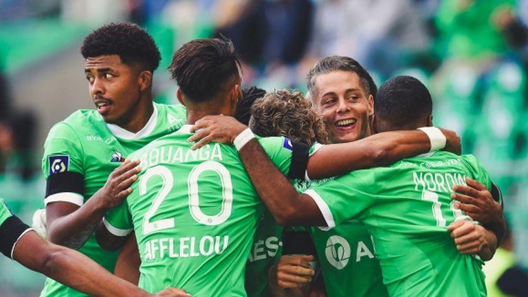 Сент Етиен стартира кампанията с победа, Бордо също с първи успех