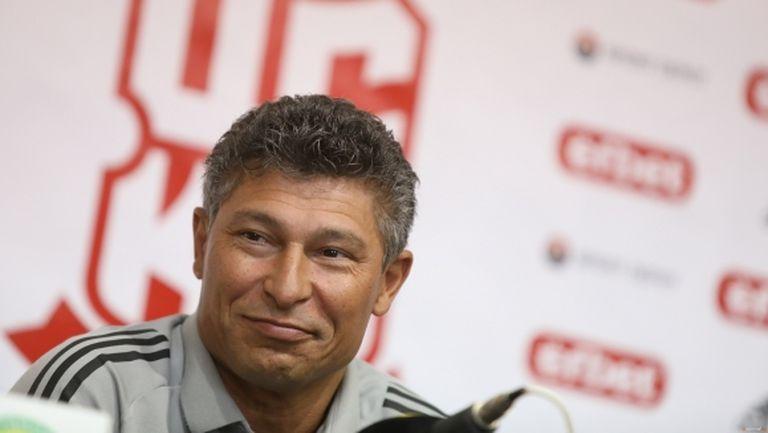 Слух свали Бала от треньорския пост в ЦСКА 1948, Найденов: Остава, ще видим следващите 4 мача