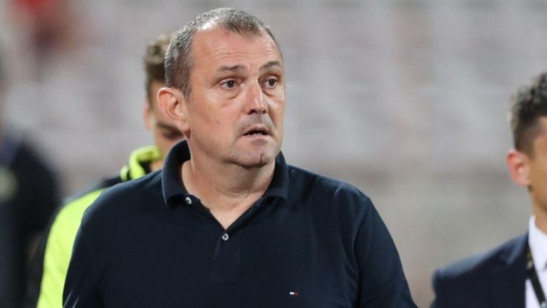 Загорчич: Проблемът е, че ни липсват футболисти на определени позиции