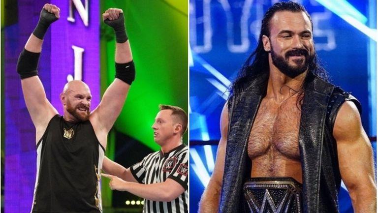 Тайсън Фюри предизвика шампиона в тежка категория на WWE