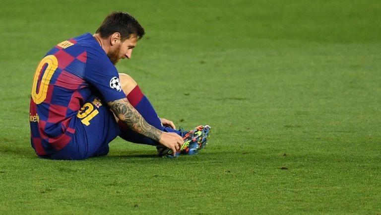 """Братовчед на Меси посочи защо футболистът иска да напусне """"Камп Ноу"""""""