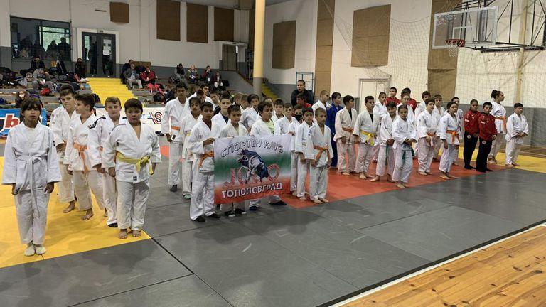 Повече от 200 млади джудисти от България, Германия и Гърция участваха на турнир в Пловдив