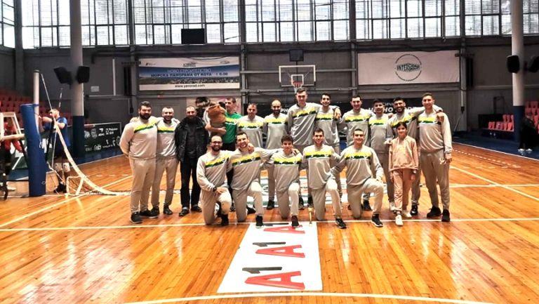 Добруджа 07 спечели Черноморските игри