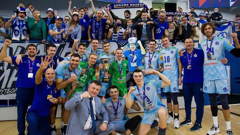 Цветан Соколов и Динамо (Москва) триумфираха със Суперкупата на Русия