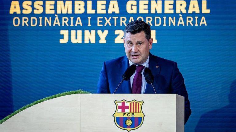 Вицепрезидентът на Барса: Който иска да види логото си върху фланелката ни, трябва да си плати