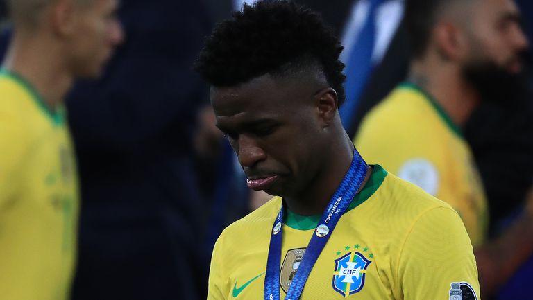 От резерва Винисиус се превърна в забравен за Бразилия играч, анализират в Испания