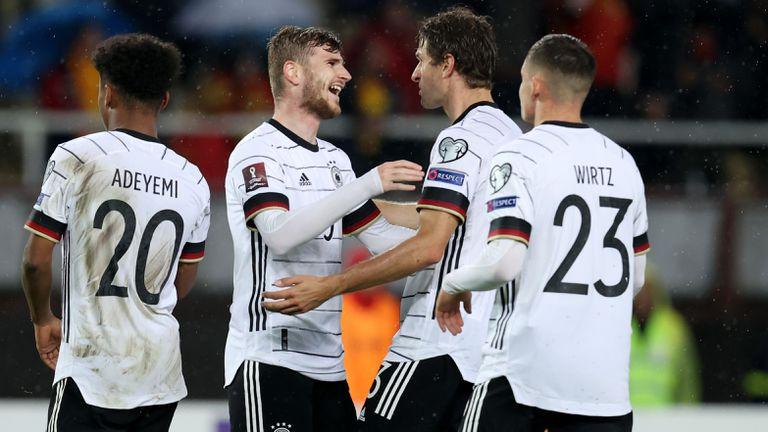 Германия разнищи Северна Македония за едно полувреме и се класира за световните финали (видео)