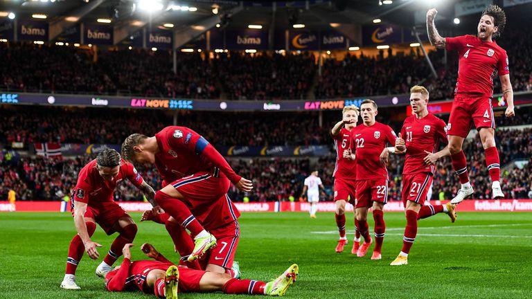 Норвегия - Черна Гора 2:0