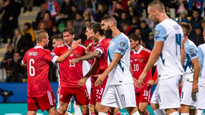 Задна ножица помогна на Русия за важна победа