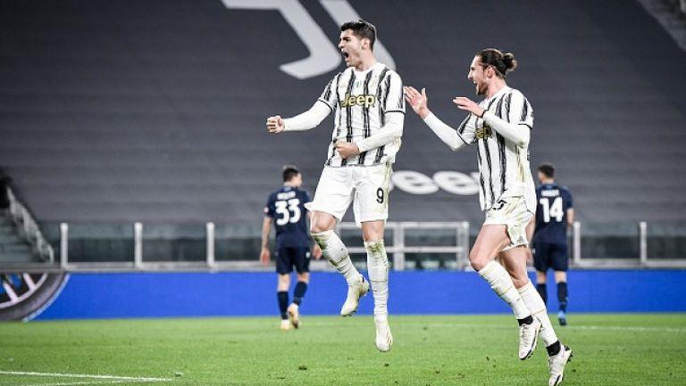 Ювентус победи Лацио, Мората с два гола