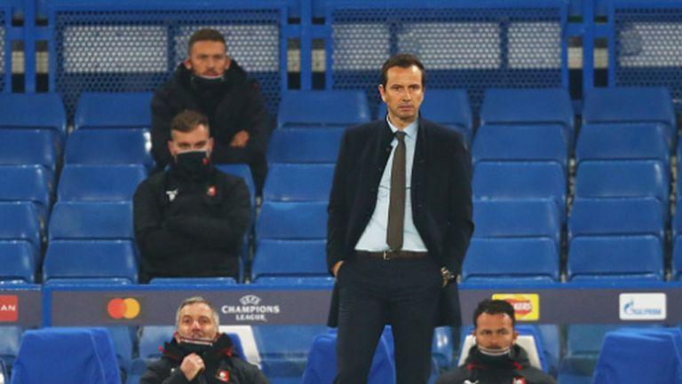 Треньорът на Рен подаде оставка