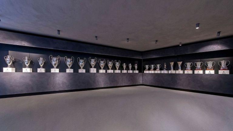 С величествено произведение на изкуството Реал Мадрид отбеляза рождения си ден (видео)