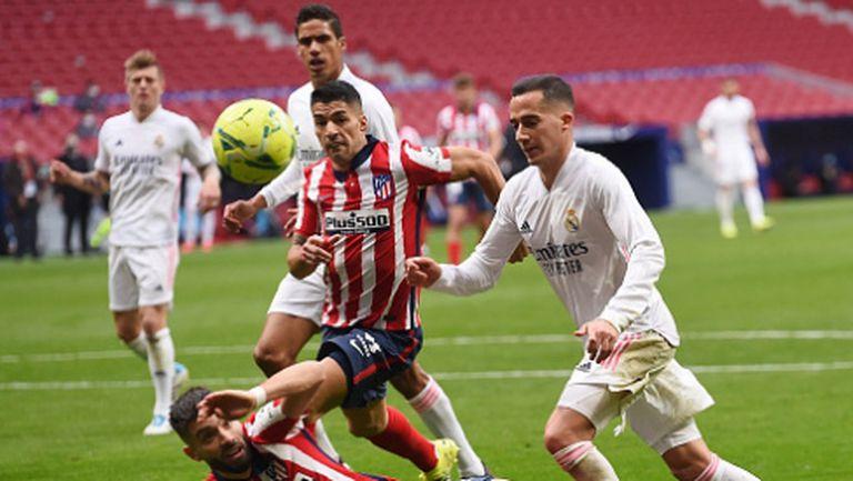 Бензема спаси Реал Мадрид с късен гол срещу Атлетико (видео)