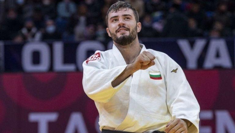 Борис Георгиев спечели сребърен медал на Големия шлем по джудо в Ташкент