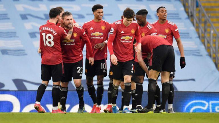 Манчестър Юнайтед сложи край на уникалната серия на машината на Пеп Гуардиола (видео)